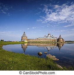 Monastery - Spaso-Preobrazhenskiy solovetsky...