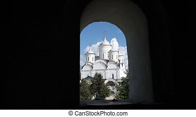 monastery - View of the of Holy Monastery Prilutsky....