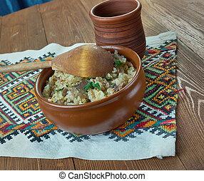 Monastic porridge - monastyrskaja kasha - Monastic Lean...