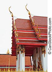 Monastic Roofs