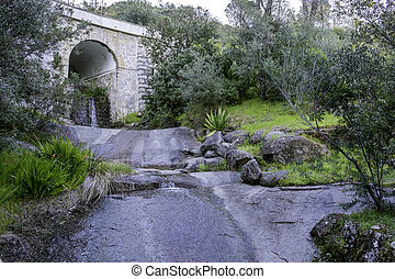 Monchique village famous therapeutic pure fresh mountain...