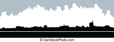 Moncton Skyline