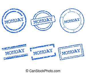 Monday stamps
