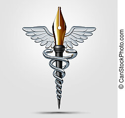 monde médical, écriture