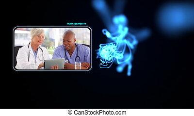 monde médical, bureaux, fonctionnement, personnel