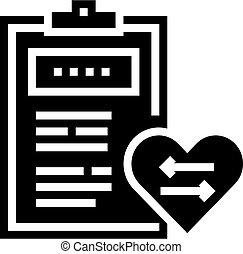 monde médical, coeur, icône, illustration, vecteur, patient...