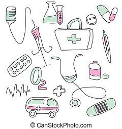 monde médical, collection, signes