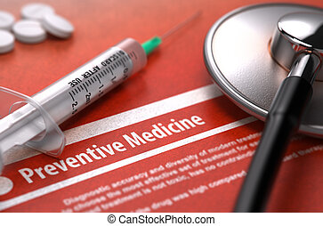monde médical, -, diagnostic, medicine., préventif, concept.