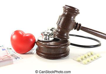 monde médical, droit & loi, à, coeur