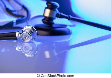 monde médical, droit & loi, concept.