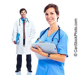 monde médical, group., médecins