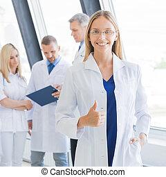 monde médical, hôpital, équipe