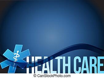 Monde Médical,  Illustration, santé, conception, Symbole, soin