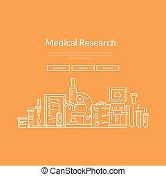 monde médical, page, toile