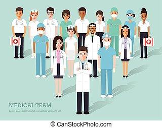 monde médical, personnel hôpital