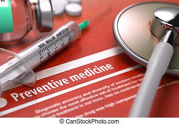 monde médical, préventif, concept., medicine.