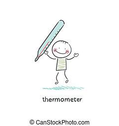 monde médical, thermomètre