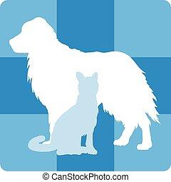 monde médical, vétérinaire, symbole