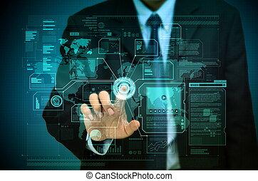 mondial, business, internet