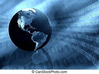 mondial, information, fond