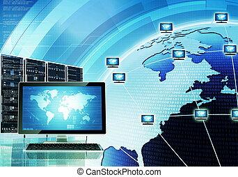 mondial, réseau informatique