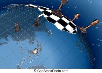 mondiale, échecs, autour de