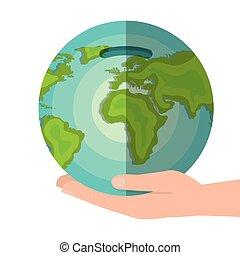 mondiale, économies, économie globale