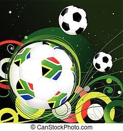 mondiale, afrique, 2010, sud, tasse