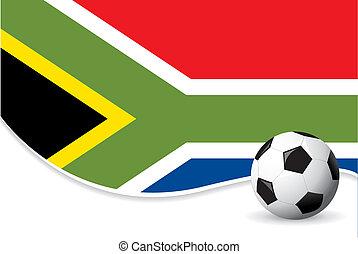 mondiale, afrique, sud, fond, tasse