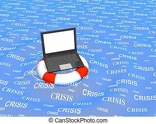 mondiale, aide, virtuel