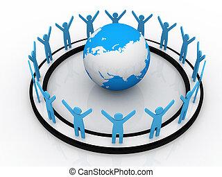 mondiale, association, business