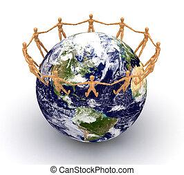 mondiale, autour de