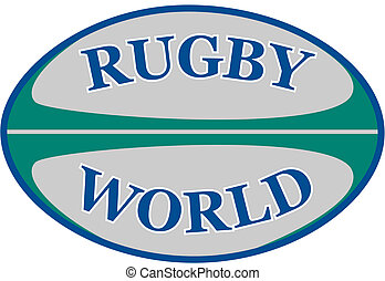 mondiale, balle, rugby, mots