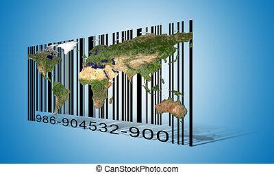 mondiale, barcode