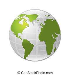 mondiale, conception, carte