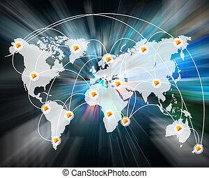 mondiale, connexion