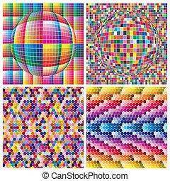 mondiale, couleurs