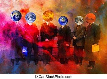 mondiale, divers, sien