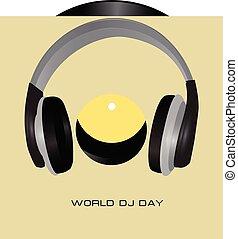 mondiale, dj, jour