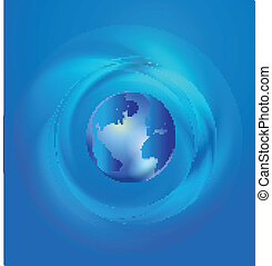 mondiale, global, commerce, communication