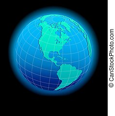 mondiale, global, sud nord, amérique