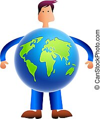 mondiale, homme