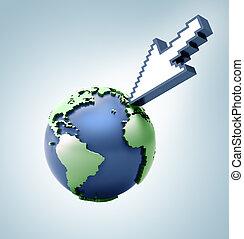 mondiale, informatique