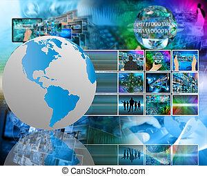 mondiale, internet