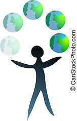 mondiale, jongleur