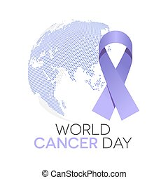 mondiale, jour, cancer