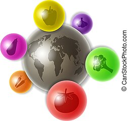 mondiale, légumes