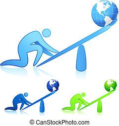 mondiale, (leverage), levage