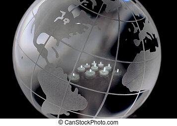 mondiale, lumière
