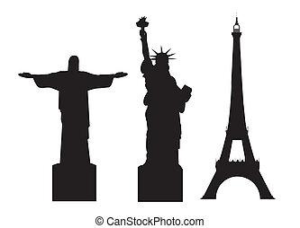mondiale, monuments